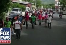 Trump threatens border shutdown over migrant caravan