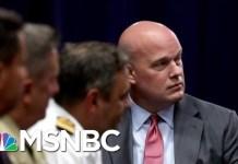 "Report: New Acting AG Already Declared ""No Collusion"" Before Taking Over DOJ | Deadline | MSNBC"