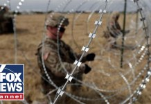 DOD: US troops at southern border have peaked at 5,900
