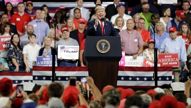 Watch Live: Trump holds 'MAGA' rally in Indiana