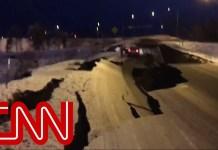 Scenes of chaos as 7.0 earthquake rocks Alaska