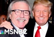 Former AMI Executive Discusses Relationship Between Trump And David Pecker | Hallie Jackson | MSNBC