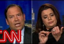 Navarro files her nails during border wall debate