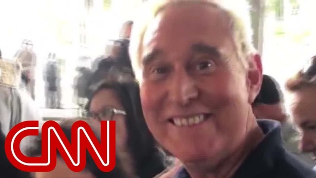 See what Roger Stone told CNN after court appearance