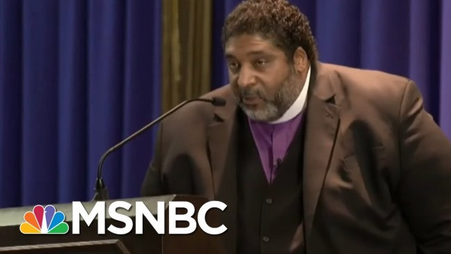 Rev. Dr. William Barber Blasts Politicians For Hypocrisy About MLK | All In | MSNBC