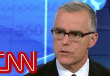 McCabe: It's possible that Trump is a Russian asset