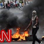 Trapped nurse describes political crisis in Haiti