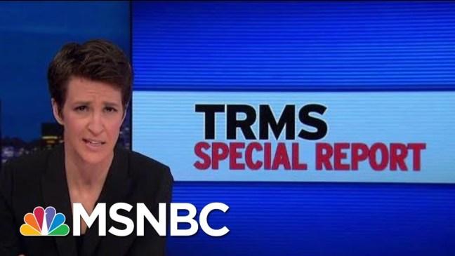Fmr VP Spiro Agnew Sought Saudi Millions To Fight 'Zionists': Document | Rachel Maddow | MSNBC