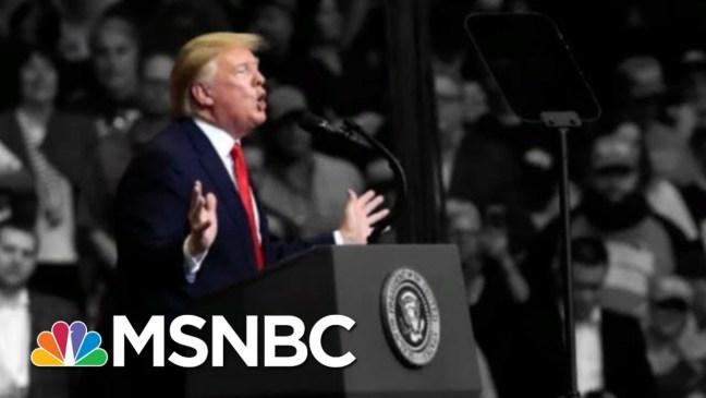 Trump Blasts Dems At Rally, Calls Russia Scrutiny 'Ridiculous Bullsh-t'   The 11th Hour   MSNBC