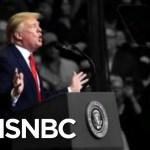 Trump Blasts Dems At Rally, Calls Russia Scrutiny 'Ridiculous Bullsh-t' | The 11th Hour | MSNBC