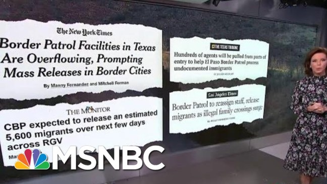 Donald Trump Threatens To Close The Border And Cut Off Millions In Aid | Velshi & Ruhle | MSNBC