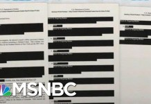 Robert Mueller Report Shows Many Cases Continuing, Hidden From Public | Rachel Maddow | MSNBC