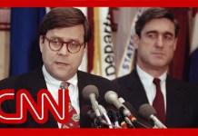 Barr dings Mueller despite their 30-year friendship