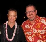 Bob and Lt. Dan Gary Sinse
