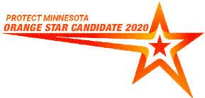 Protect Minnesota Orange Star Candidate