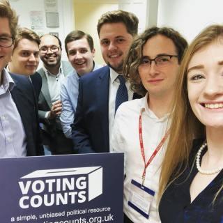 Voting Counts team meeting