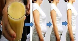 La plus puissante boisson pour vous débarrasser de la graisse abdominale en 7 jours