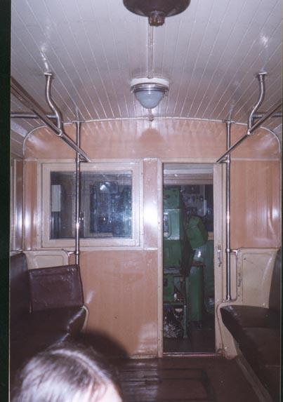 intérieur ligne d6 métro 2 moscou