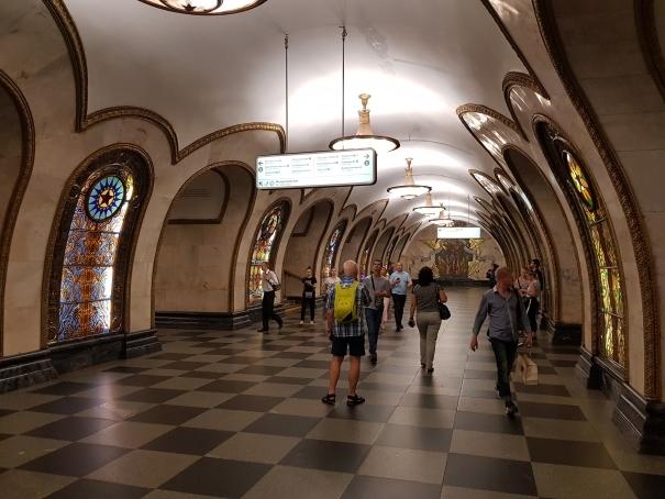 Corridor Métro Moscou