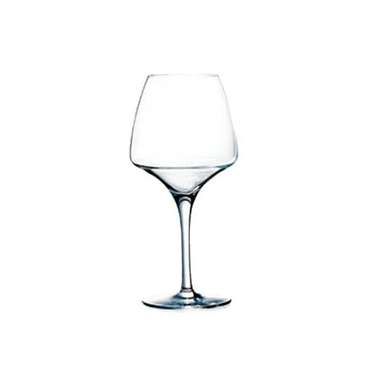 chef sommelier lot de 6 verres a pied pro tasting 32cl serie open up