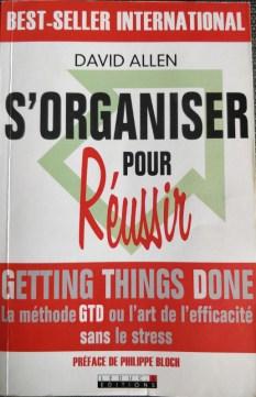 couverture livre s'organiser pour réussir