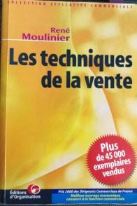couverture du livre les techniques de vente