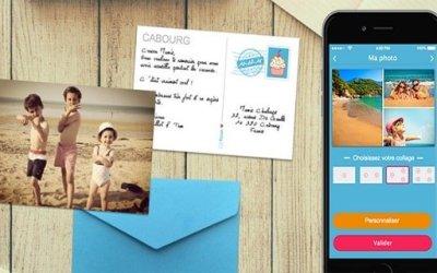 Fizzer transforme vos photos en carte postale