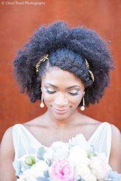 Afro de mariage