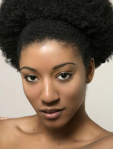 Afro tiré