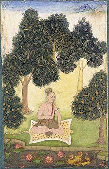 225px-A_yogi_seated_in_a_garden