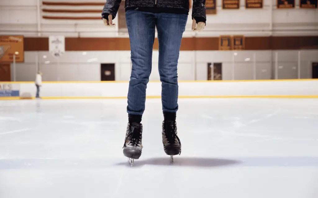 Patinage sur glace en toute confiance