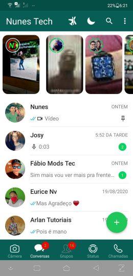 Aero WhatsApp 8.40