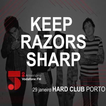KEEP RAZORS SHARP @ HARD CLUB PORTO