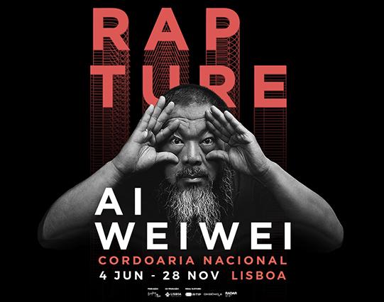 Cartaz exposição Rapture