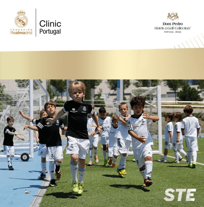 Clínicas de futebol da fundação Real Madrid em Vilamoura. Caixa de entrada