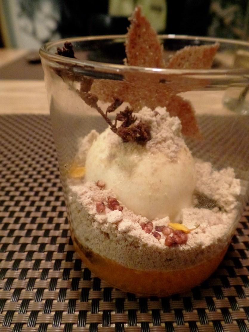 persimmon dessert mingles seoul