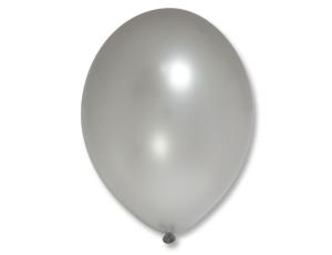 Воздушный шар Металлик Экстра Silver