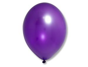 Воздушный шар Металлик Экстра Purple