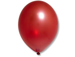 Воздушный шар Металлик Экстра Cherry Red