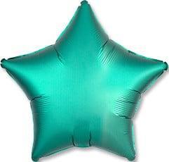 Фольгированные шары звёзды САТИН JADE