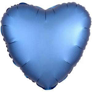 Сердце САТИН AZURE