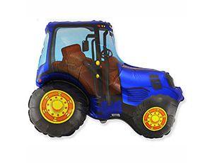 Фигура Трактор синий