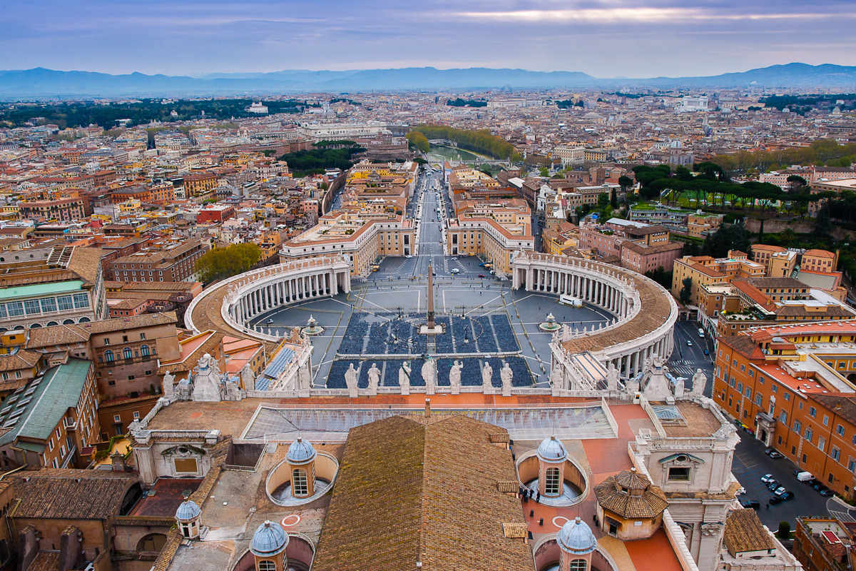 Vatican And St Peters Basilica In Photos Interiors Roof
