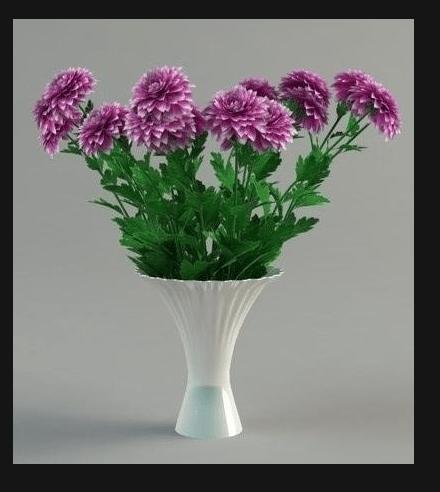 Чтобы хризантемы простояли дольше