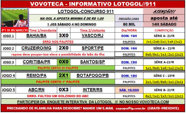 lotogol 911