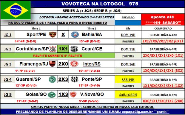 lotogol 975