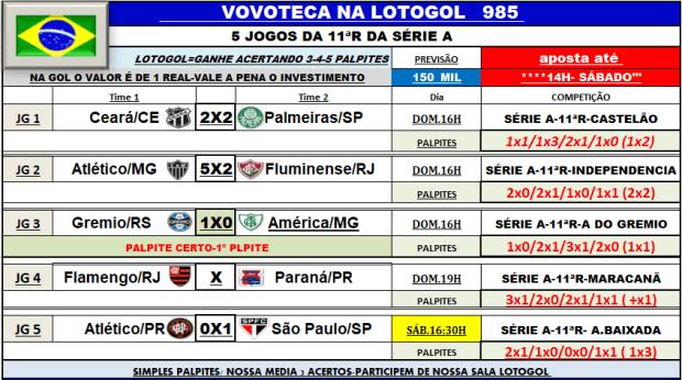 lotogol 985