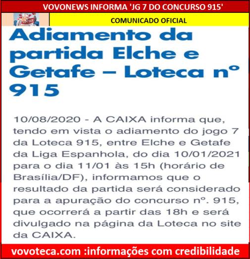 915 INFORMAÇÃO