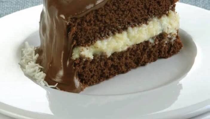 Bolo prestígio para os amantes de bolo doce