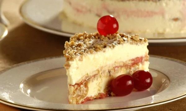 receita da torta gelada de doce de leite